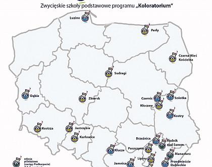 """""""Koloratorium"""" Śnieżki wśród najciekawszych inicjatyw CSR"""