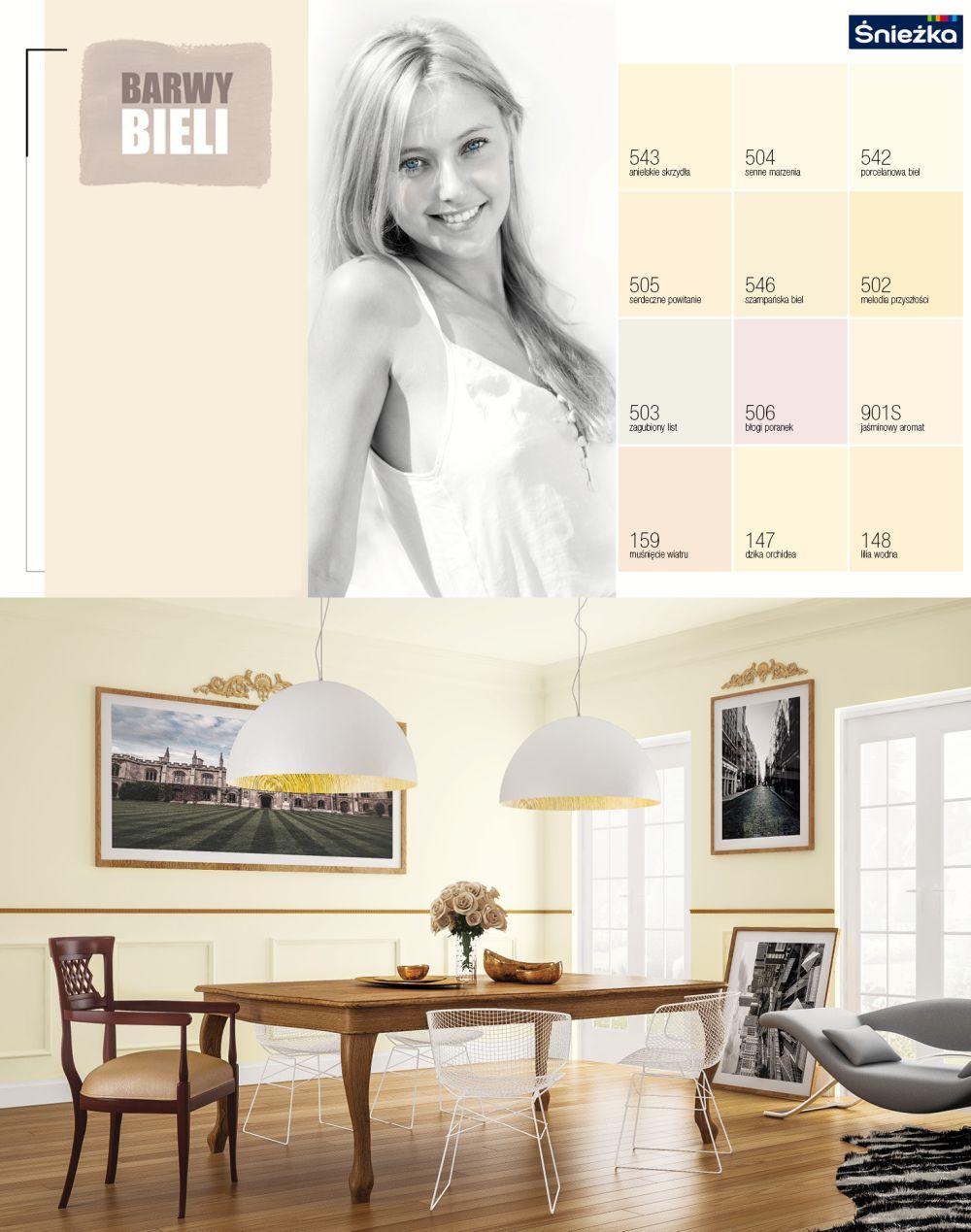 Trendy kolorystyczne 2014 -barwy bieli
