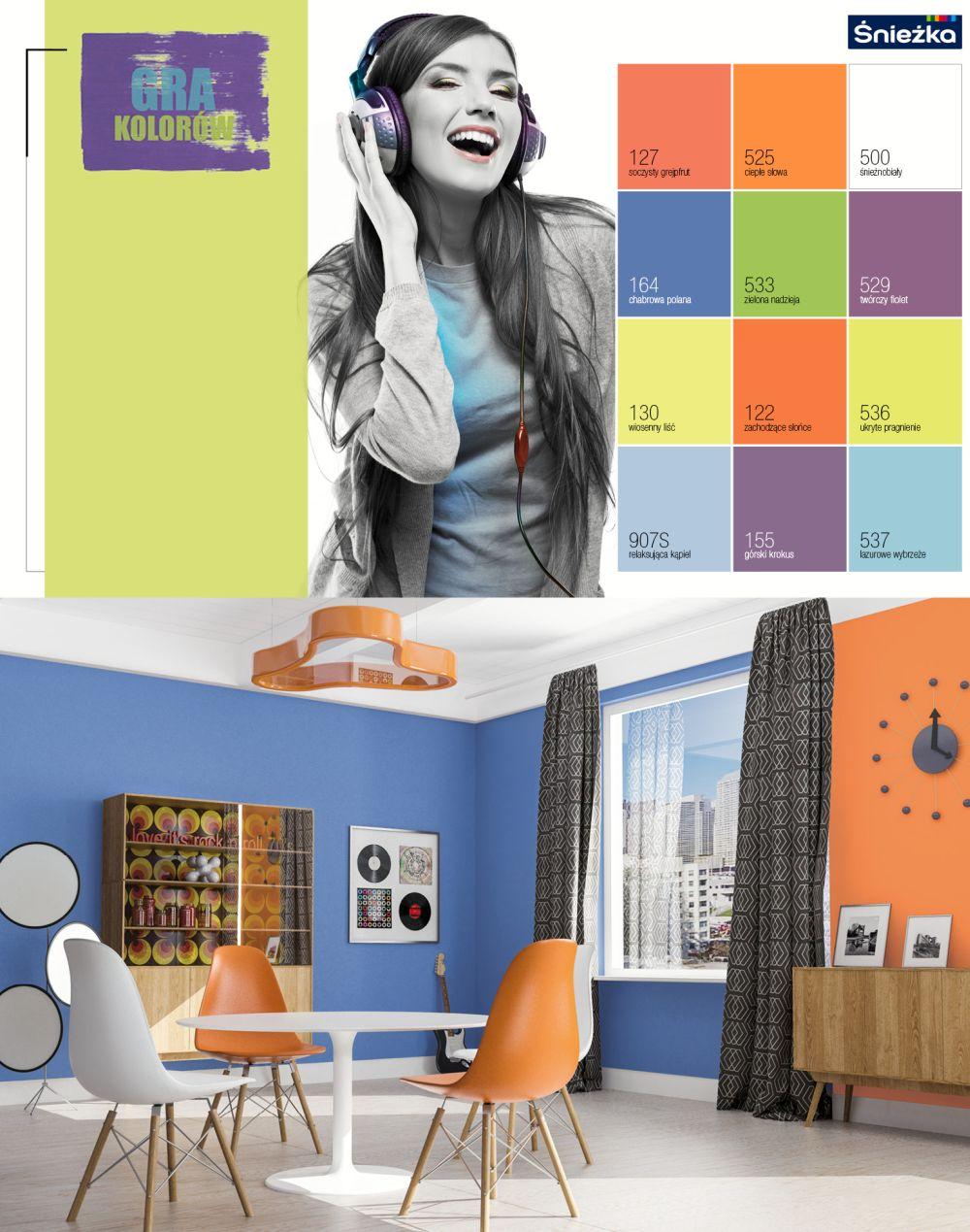 Trendy kolorystyczne 2014 -gra kolorów